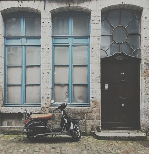 Lille Lille, France Architecture Bicycle Outdoors City No People Window Residential Building Façade Day Door Building Exterior Built Structure Motorcycle Photography Streetphotography Lifestyles City EyeEmNewHere The Street Photographer - 2017 EyeEm Awards EyeEm Selects