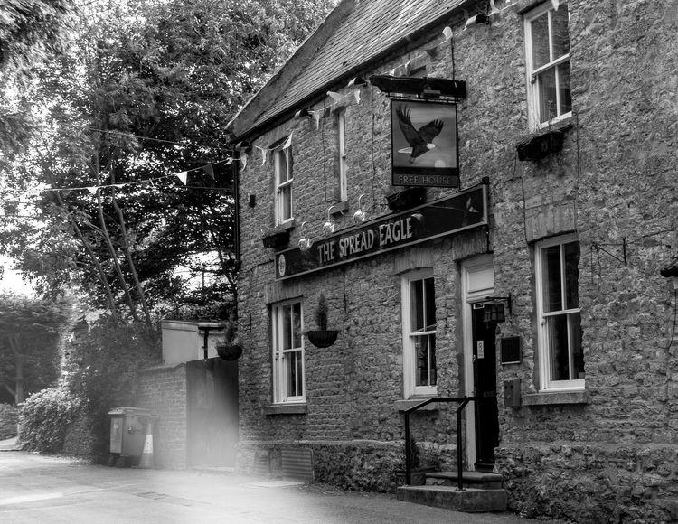 The Spread Eagle, Piddington, Northampton Northampton Pubs Northampton Pubs Black And White