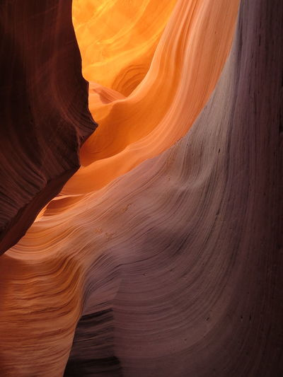 Scenic View Of Antelope Canyon