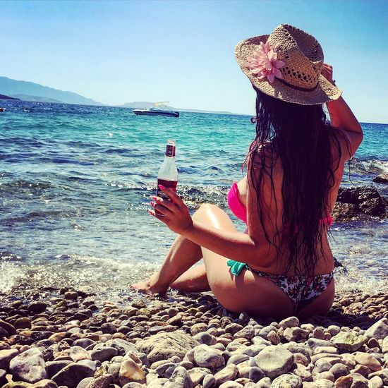 Croatia Holiday Vacation Otokkrk Slovakiagirl Relax Hellosummer
