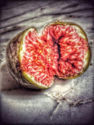 Incir Tin üzerine Yemin Edilen Meyve Fruit Fig Red Green
