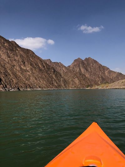Kayaking Kayak Sea Mode Of Transportation Nautical Vessel Blue