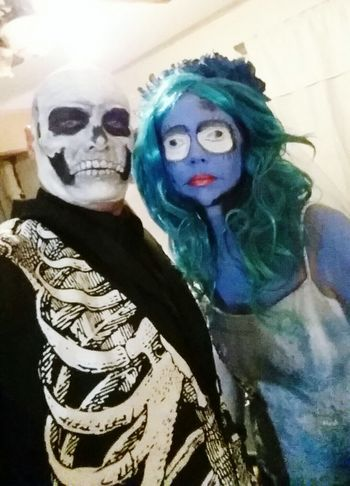 Keith and jen Halloween 2015 Hanging Out First Eyeem Photo