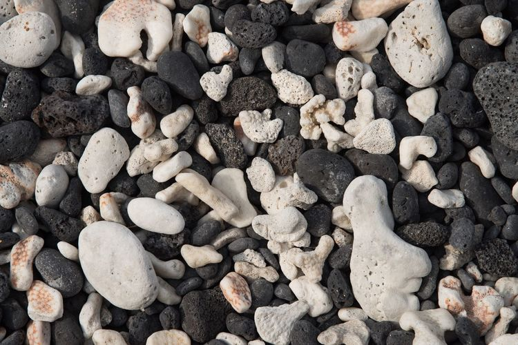 How many more years of being tossed in the surf until this becomes a salt and pepper sand beach? EyeEm Selects Beach Nature Backgrounds Large Group Of Objects Close-up Full Frame No People Hawaii Nature Pebble Beach Big Island Lava Rocks Coral Perspectives On Nature