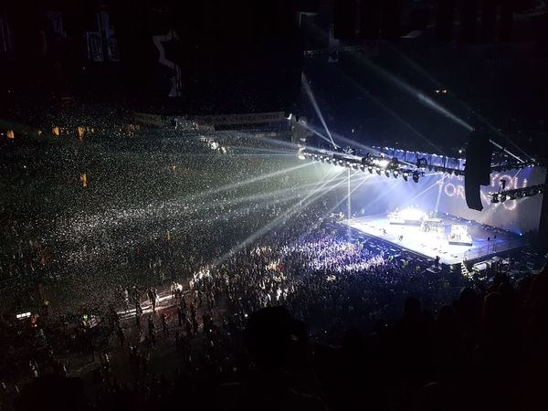 Chainsmokers Concert Photography Music Performance Popular Music Concert Stage - Performance Space Crowd Indoors  Nightlife Stage Light