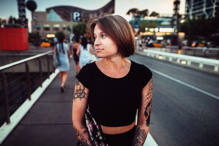 Barcelona Vibes Street City Barcelona Portrait barcelo One Person Young Adult Lifestyles Standing City Life Leisure Activity Young Women One Woman Only Outdoors Real People Only Women Adults Only Night Adult People Barcelona