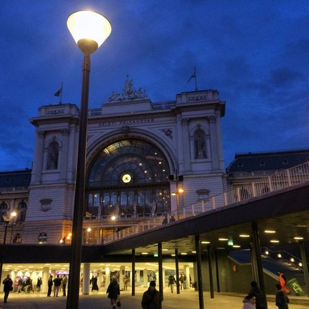 Railway station Built Structure Architecture Walking Around The City  Budapest View Keleti Railway Station Beautiful Moments Love