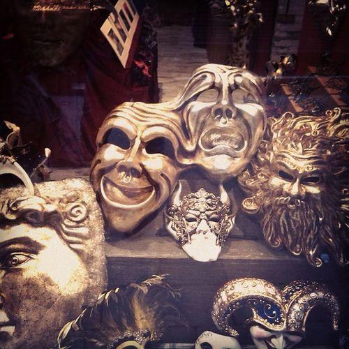 Venice Italia Mask Goldenmask