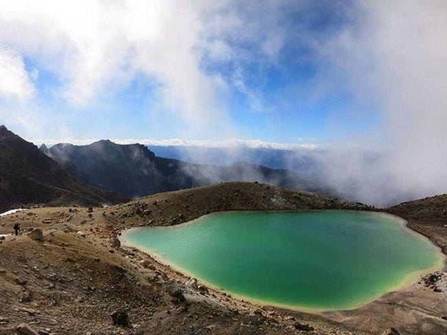U N R E A L Lakes  Hiking Tongariro Travel Newzealand