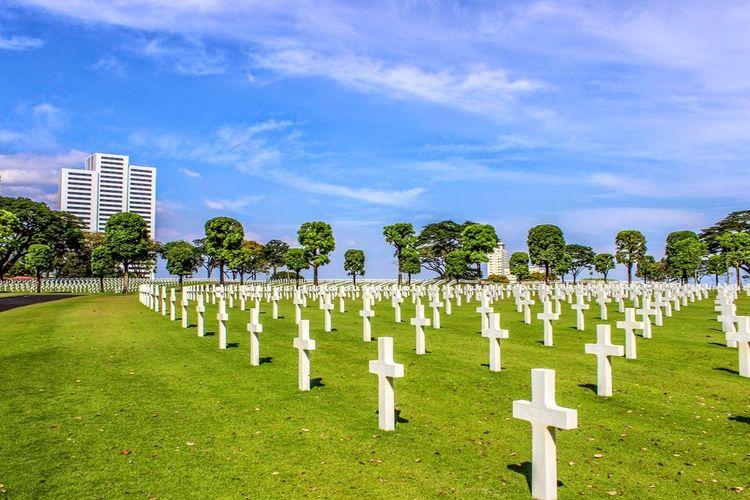 American Cemetery in BonifacioGlobalCity in Manila