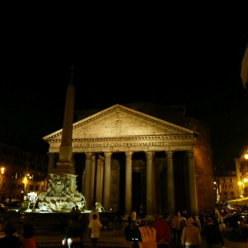 Rome Italy Pantheon Church 2013