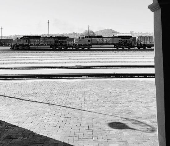 """Double Engine 'Pullin"" Train Train Station Trainengine Railroad Railroad Love Railroadphotography Blackandwhite Blackandwhitephotography"