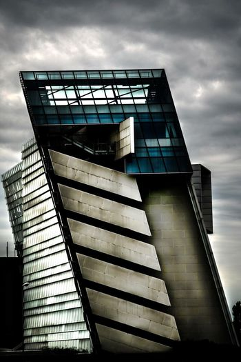 Architecture Abstract Built Structure Glass Palace