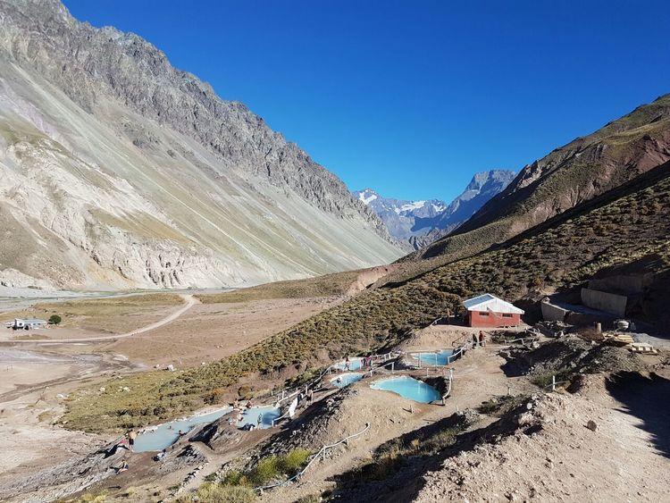 Termas valles de colina EyeEm Nature Lover Eyeemphotography Landscape Snow Blue