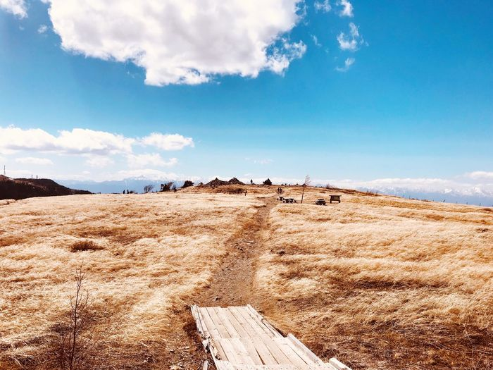 Utsukushigahara, Nagano, Japan Sky Cloud - Sky Land Tranquility Tranquil Scene Nature Scenics - Nature