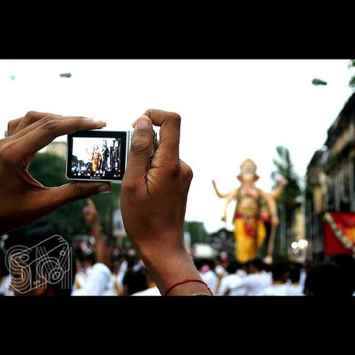 Instadaily Ganpati Friends Focus Othercamera Followme Like Parelcharaja Crowd Amazingday Instaholic