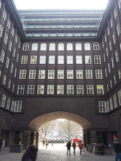journey Apartment Architecture Building Built Structure City City Life Façade Hamburg Low Angle View Urban Window