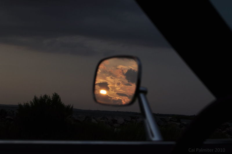 Amazing View Check This Out OBX Side Mirror Side Mirror Shots Side View Sunset Sunset_collection