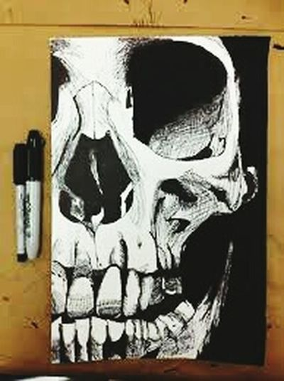 Taking Photos Drowing By Me Photo♡ Pic Skulldrawing