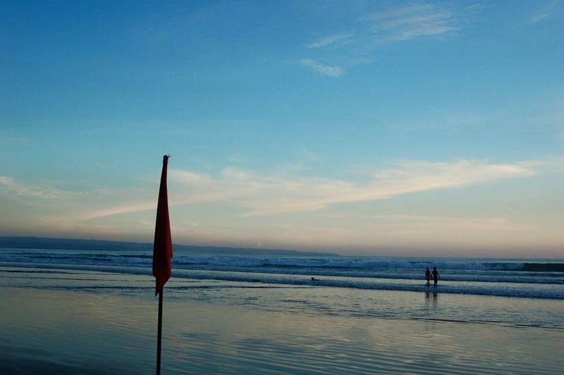 旅行先のバリ島にて First Eyeem Photo Bali Trip Sunset_beach Megaja