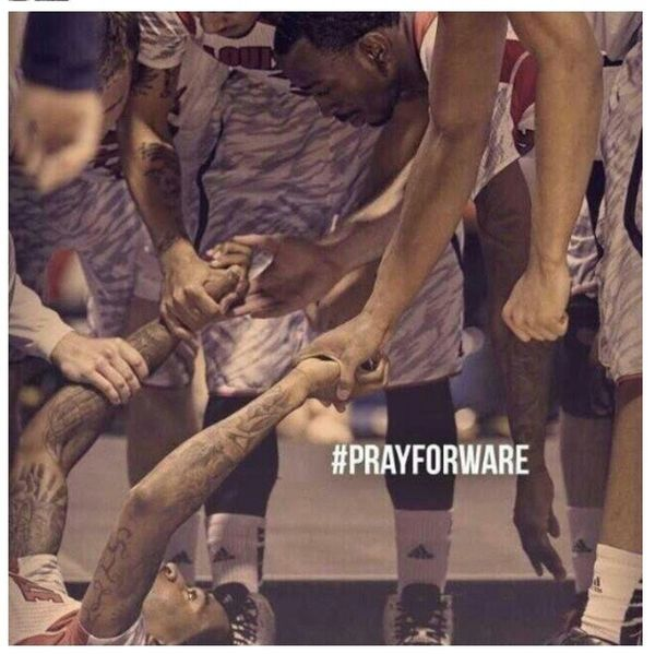 #PrayForWare