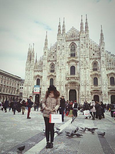 Milano Duomo Saturdayafternoon