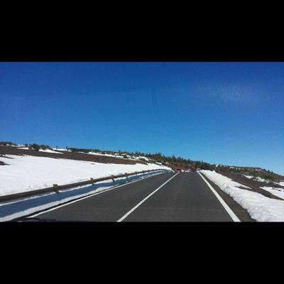 Carretera Elteide Nieve ❄😍