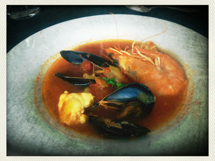 3rd course. Aye yay yaye! Greetings from the Sea. @BerlinCooking