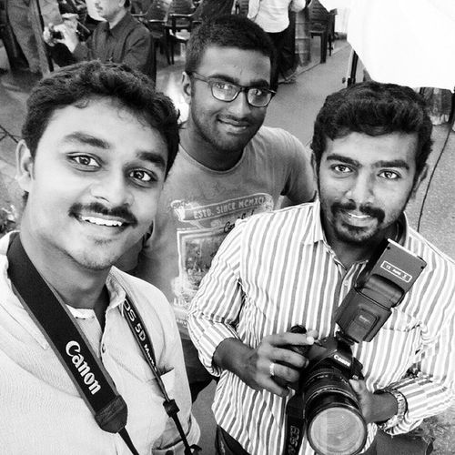 Selfie wit my team JDphotography Wedding Candid