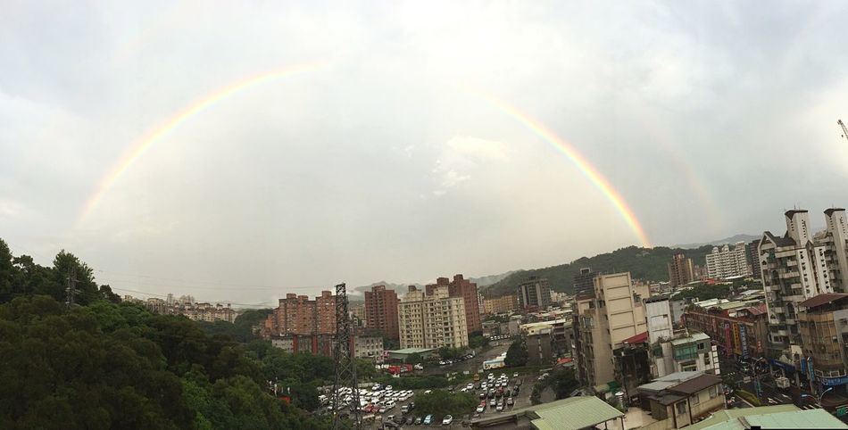 Double Rainbows Taipei,Taiwan