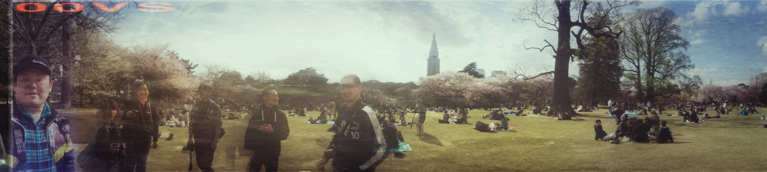 EyeEm Tokyo Meetup 3 Panorama Snapseed Relaxing 新宿御苑フォトウォーク
