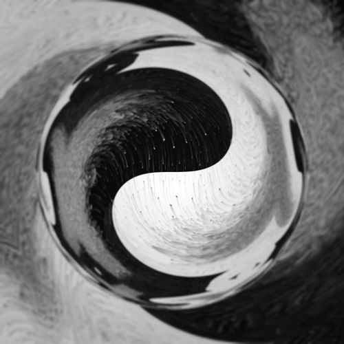 Disbalans in Balance.. Artistic Expression Futuristic Hello World No People Futuristic Patterns New Art Blackandwhite Photography Freestyle Life Freestyle Variation Hallo World Tube Modern Art Concentric