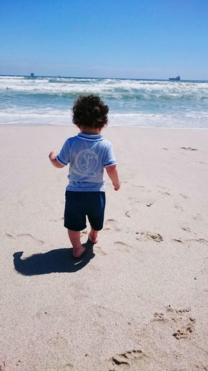 Hanging Out Taking Photos Enjoying Life Happiness Beachphotography Beach Baby Boy My Son Two Today Two Years Old