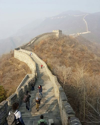Turism China Photos Great Wall Of China Outdoors Travel Destinations