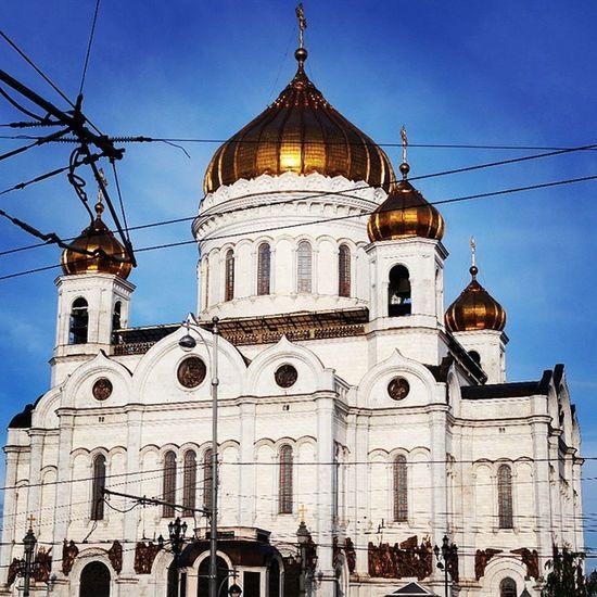 Москва ХрамХристаСпасителя Moscow