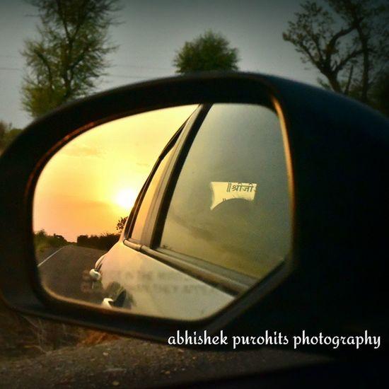 Sunset Jodhpur Travel Concept Reflection Frame Lovetraveling Randomness Photographie  Jaishrikrishna Nathdwara Highway