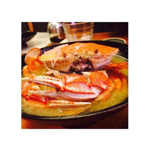 ✩✩✩ カニさんこんばんは カニ汁 恵み 蟹 美味しかった