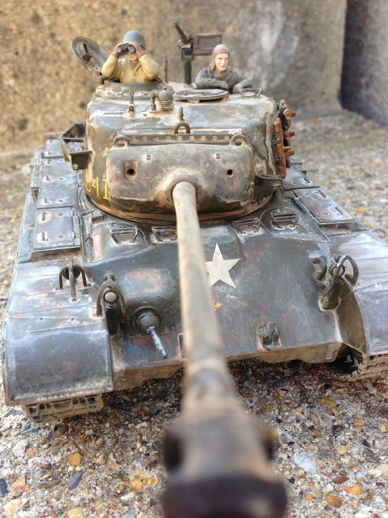 Plastic Model Model Tank