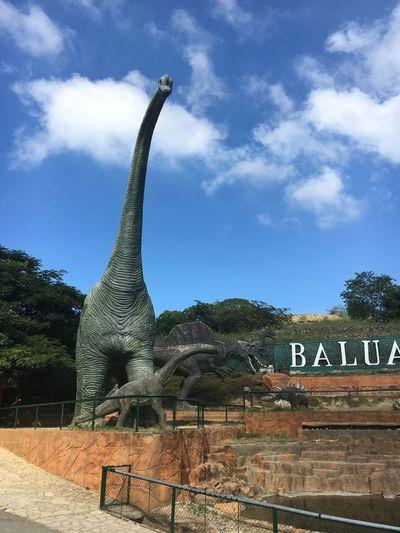 Baluarte ni Chavit Baluarte, IlocosSur, Philippines BaluarteNiChavit Vigan Philippines Architecture Cloud - Sky No People Sky Statue Text