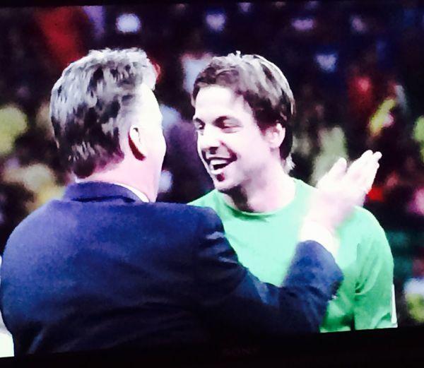 Football Krul Holland saver off the match Tim Krul