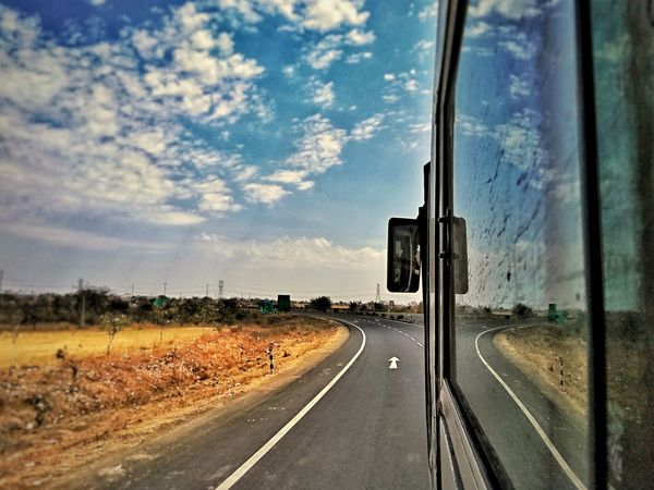 Transportation Road Sky Cloud - Sky No People Connection Outdoors Day Travelling Travel Photography Travelphotography Traveling