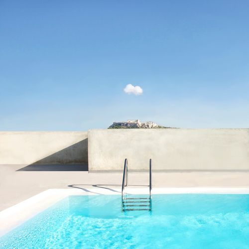 The Architect - 2017 EyeEm Awards Swimming Pool Architecture Architecture Poolside Parthenon Lonelycloud