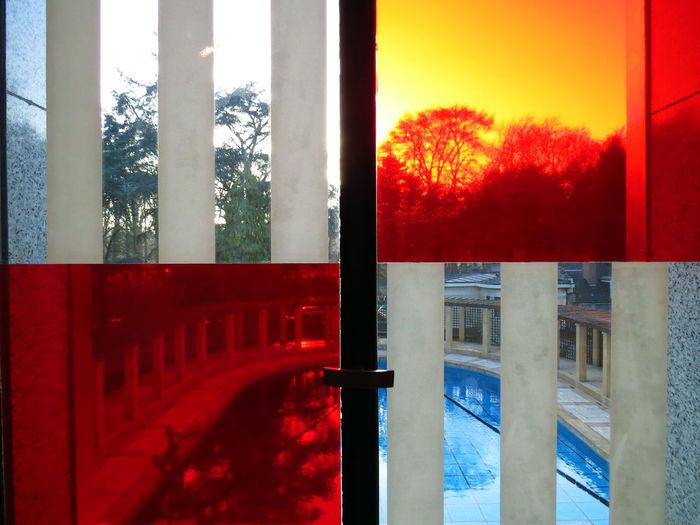 Architecture Arrangement Art Art Deco Art Deco Architecture Art Deco Style Brussels Colorblocking Colorful Geometric Outlandish Perspective Pool Pool Area Pool View Quadrat Squares Stripes Pattern The City Light Villa Empain Vision Visionary Window Windows
