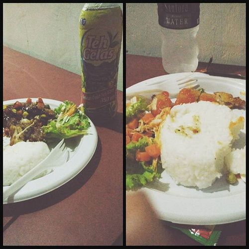 nasi chicken black pepper & nasi chicken katsu... 😁😝🍱🍛 murah meriah mantap Kuliner Jalanjalan Wirausahamuda BatuAji Batam