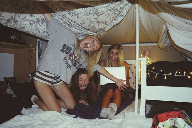 Fortress Friends Sleepover! Cute♡
