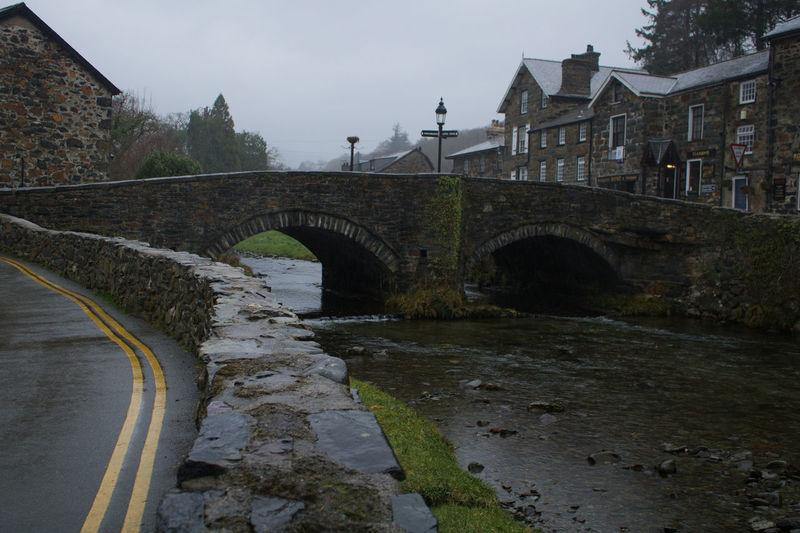 Water Bridge - Man Made Structure Architecture Sky Arch Bridge River Bridge Riverbank Historic Arch
