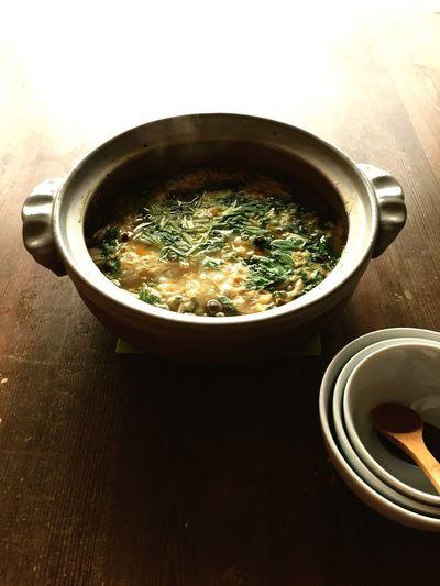Healthy Eating 雑炊 朝ごはん 朝食 Food 和食 WASHOKU 朝の食卓 Breakfast Kayu Morning On The Table