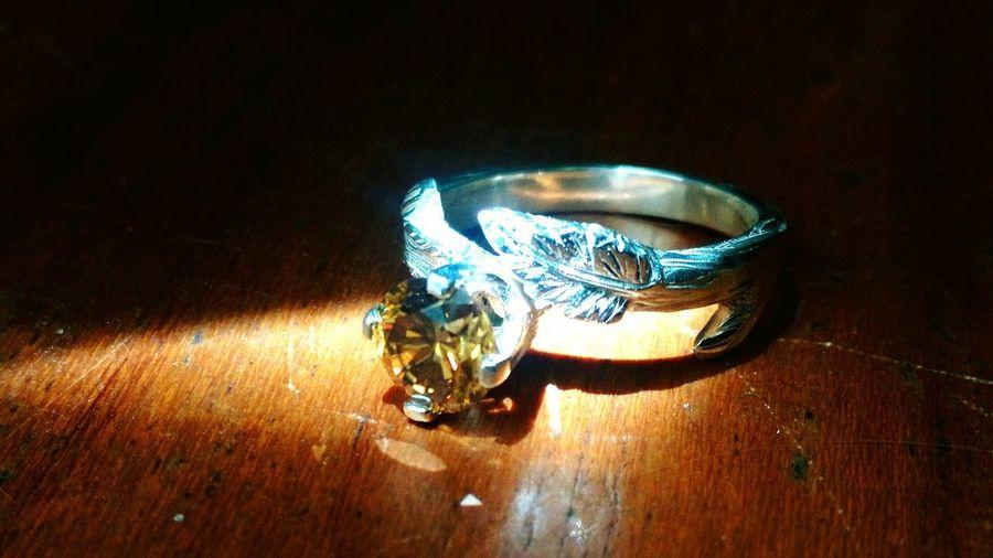 43 Golden Moments Moissanite Silver Ring Moissanite Ring Engagement Ring Rings 💍 Rings