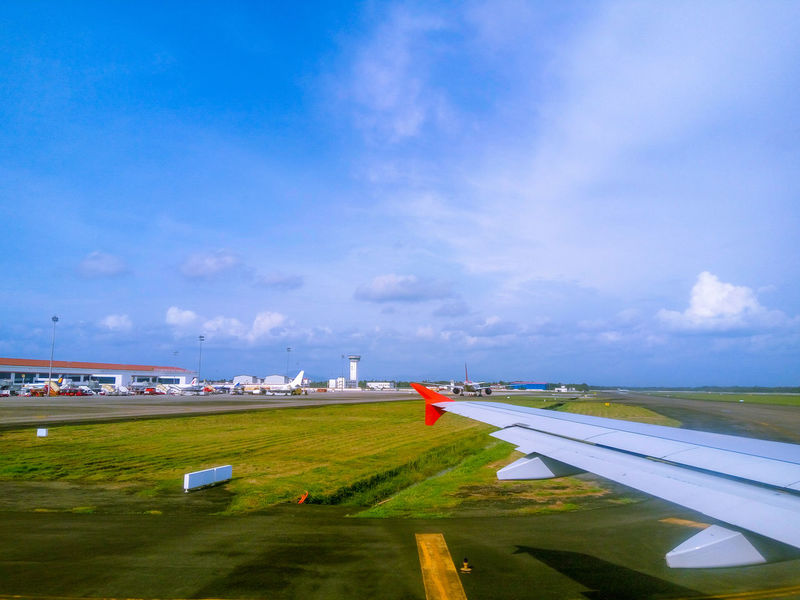 departure Airport Airplane Airport Runway Airportphotography Airport Terminal Airport Photography Airplane Airplane Wing Aeroplane Departure Departing Sky And Clouds Outdoor No People Transportation Travel Photography Travel Journey Flying High Take Off Fly Away India Cochin Kerala