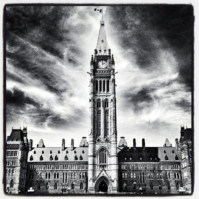 Canada's Parliament. #Ottawa Instagood Webstagram Architecture EyeCandy  IPhoneography Irox_bw Canada Capital Landmark Parliament Ottawa Igcanada Iphoneonly Ohcanada Photooftheday Mounties Picoftheday Canadian_landmark Eh Canadian_icon Magnificent Constitution Canadian Instamood Government Ontario